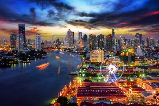 Asiatique Sky or the giant Ferris Wheel