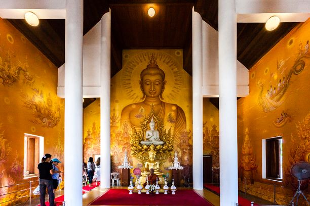 Buddha Statue in Ubosot of the temple
