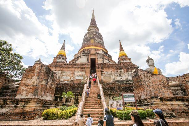 Chai Mongkol Chedi in Ayutthaya