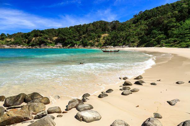 Freedom Beach at morning in Phuket, Thailand