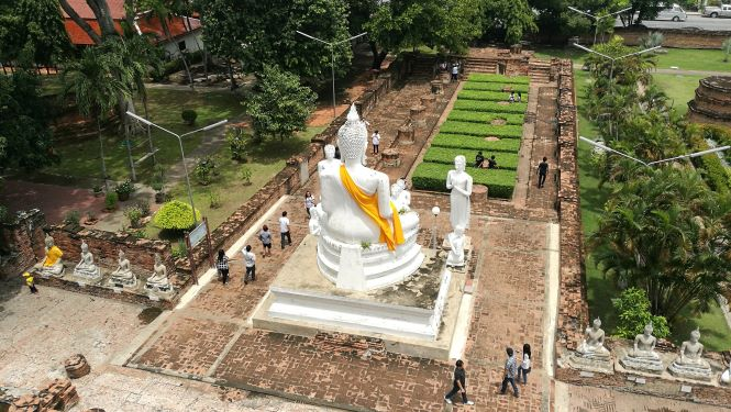 History of Wat Yai Chai Mongkol temple