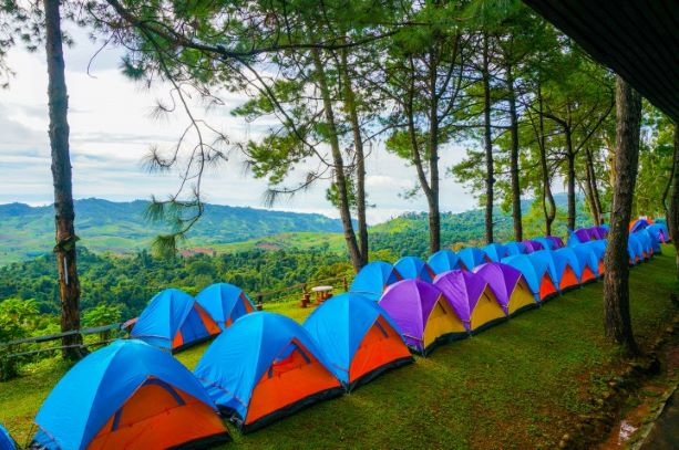 camping Area on the mountain