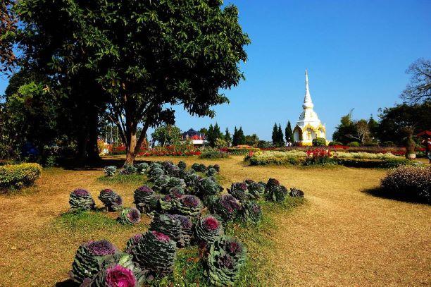 stupa in Phetchabun Thailand