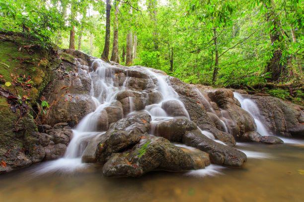 Lam Prao Waterfall and Hin Lard Waterfall