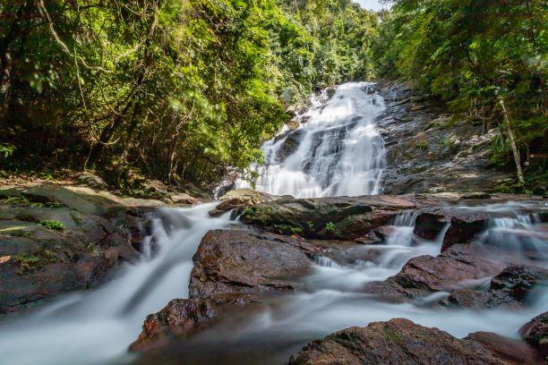 Lam Ru Waterfall at Khao Lak-Phang Nga Thailand