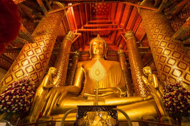 Luang Pho To is a famouse buddha in Phanan Choeng temple