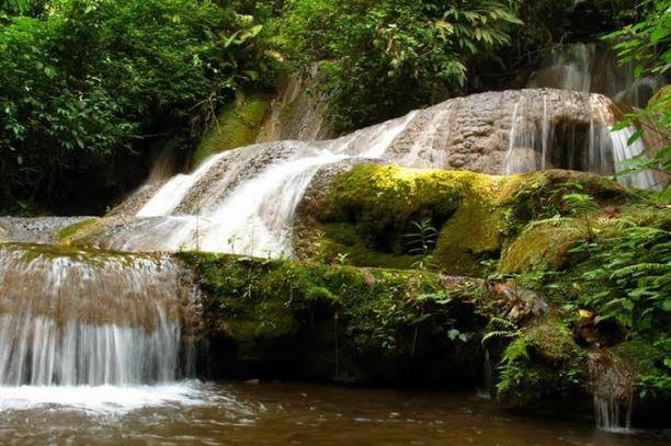 Mae Yuam Luang Waterfall Mae Hong Son
