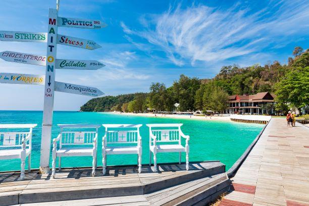 Maiton Private Island in Phuket Thailand