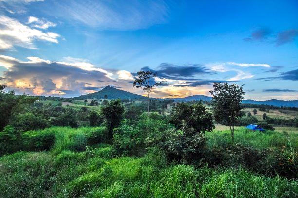 landscape of Nam Nao National Park in Phetchabun