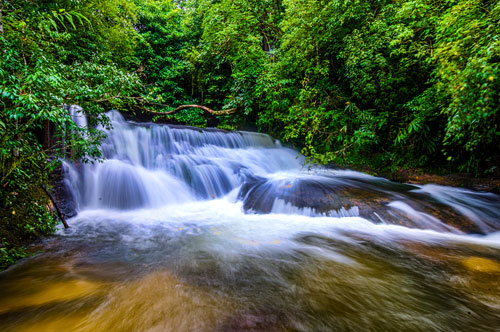 Pha Lad Waterfall at Phu Hin Rong Kla National Park