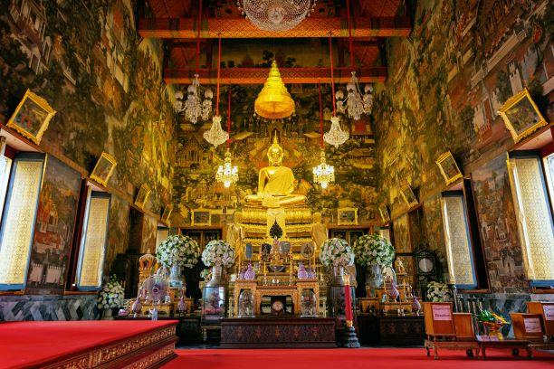 Phra Buddha Thammisorarat Lokathatdilok- Wat Arun Temple Bangkok