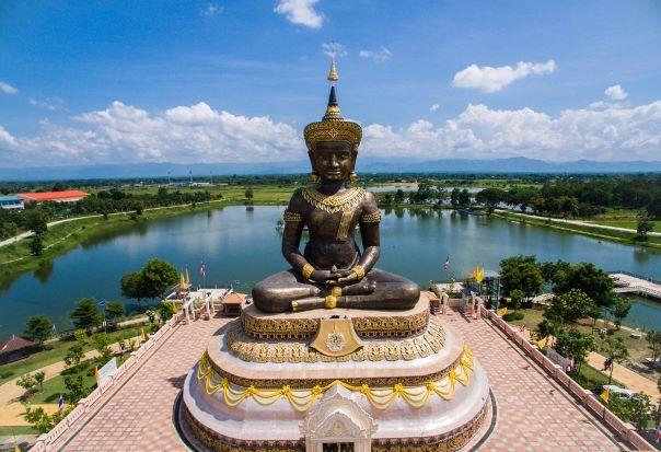 Phra Phuttha Maha Thammaracha in Phetchabun, Thailand