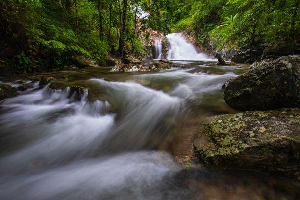 Pi-tu-gro waterfall, Beautiful waterfall in Tak,ThaiLand