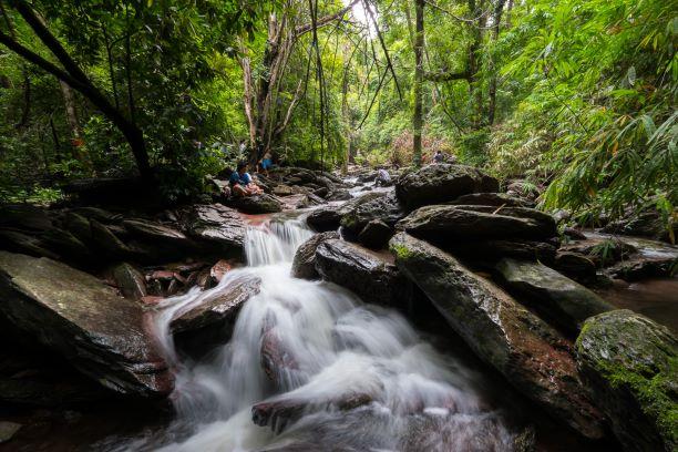 The Waterfall in Ramkhamhaeng National Park