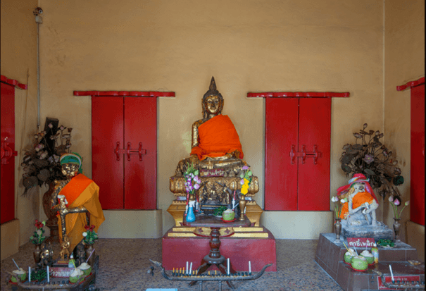 Than Chao Wat is the sacred buddha image in wat Chalong temple