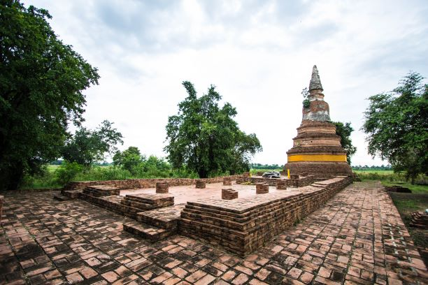 The Pagoda or Chedi of Wat Phra Ngam