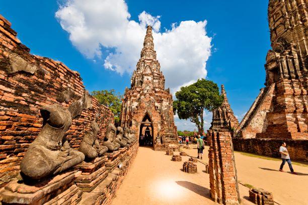 The Gallery of Wat Chaiwatthanaram, Ayutthaya