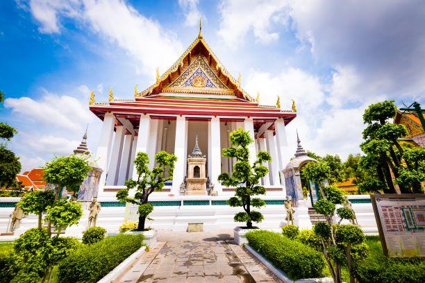 Ubosot of Wat Suthat Thep Wararam