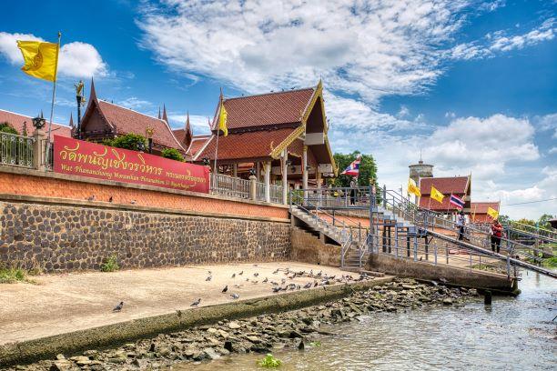 Wat Phanan Choeng temple in Ayutthaya, Thailand