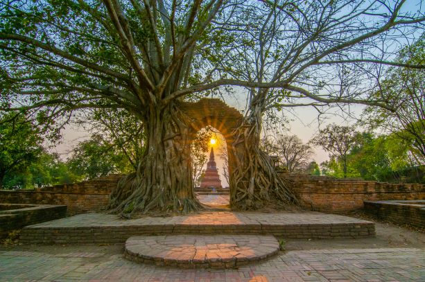 Wat Phra Ngam is Unseen Thailand place in Ayutthaya.