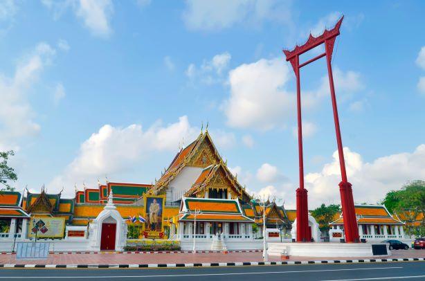 Wat Suthat Thepwararam Ratchaworamahawihan in Bangkok