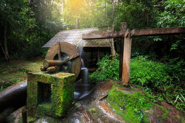 Water Turbine at Phu Hin Rong Kla National Park