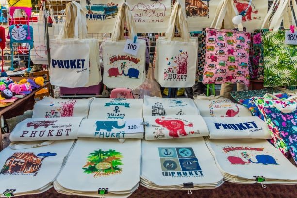Shop the local products and souvenirs of Phuket