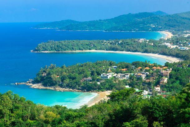 the Karon View point in Phuket-Thailand