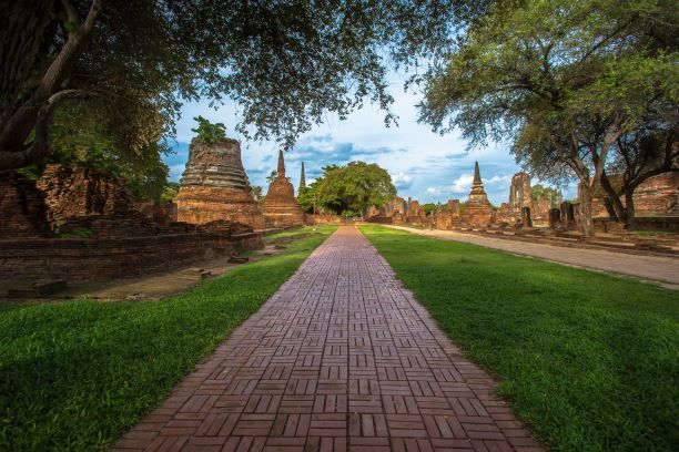 Ayutthaya Historical Park-the 'World Heritage Site in Culture' by UNESCO