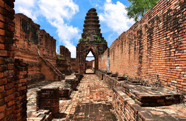 Ayutthaya Royal residence, Thailand