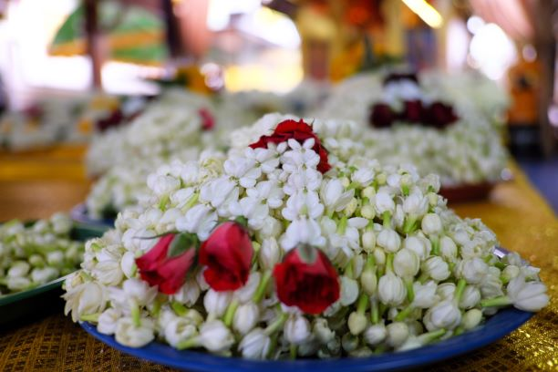 The Jasmine for the Worship and Redemption to Luang Pho Than Jai