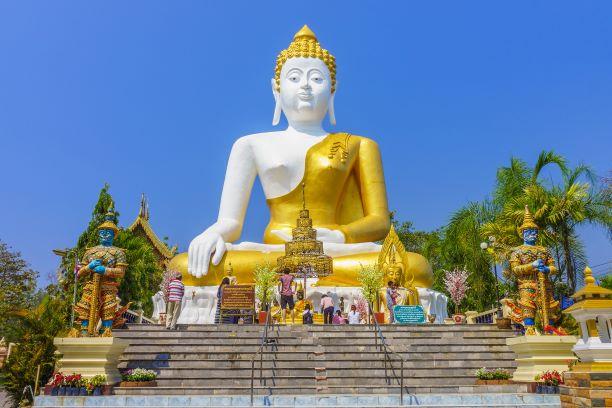 The Speakable Buddha Image at Wat Phra That Doi Kham