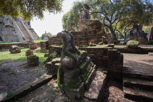 Wat Na Phra Meru at Ayutthaya National Park