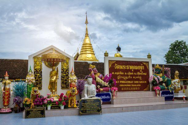 Travelling to Wat Phra That Doi khamin