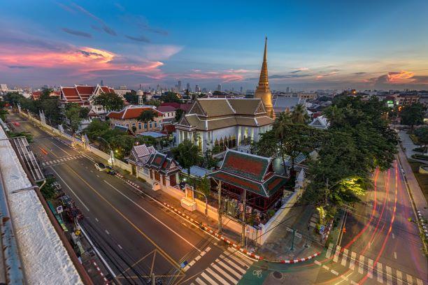 Best temples in Bangkok -Wat Bowonniwet