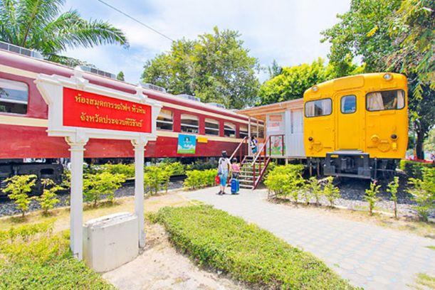 Hua Hin Railway Library