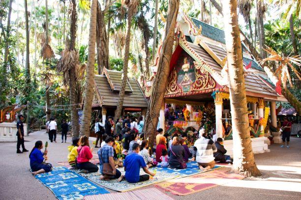 Inside Wat Kham Chanot
