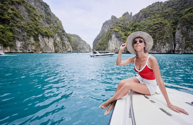 Things to Do in Phuket -sailing on the yacht