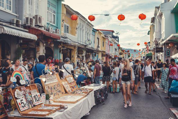 Things to Do in Phuket - shop at weekend walking street market
