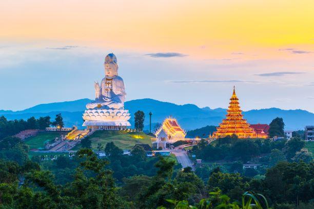 Top 10 Temples in Chiang Rai -Wat Huay Pla Kang