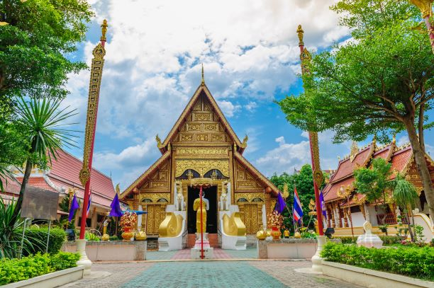 Top 10 Temples in Chiang Rai -Wat Phra Singha (Chiang Rai)