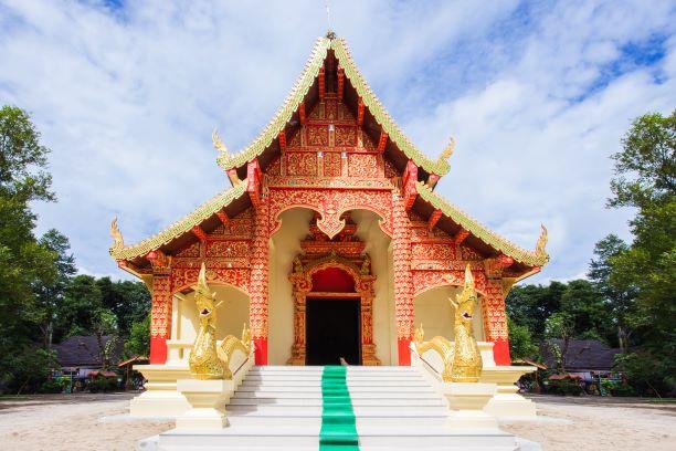 Top 10 Temples in Chiang Rai -Wat Phra That Doi Jom Thong
