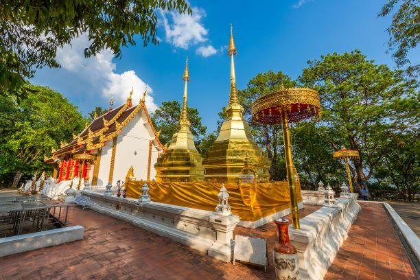 Top 10 Temples in Chiang Rai -Wat Phra That Doi Tung (Chiang Rai)