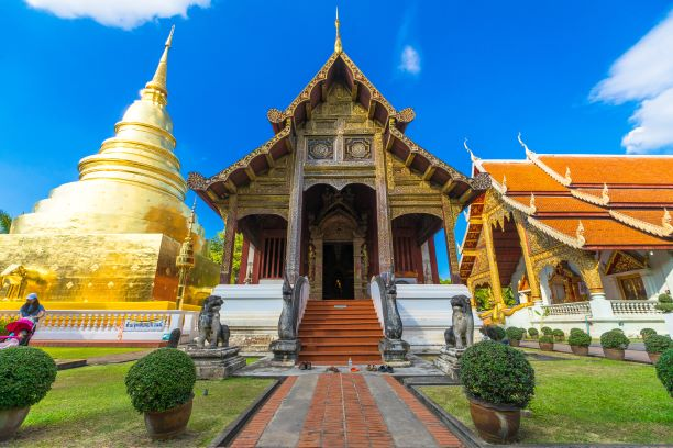 Wat Phra Singh-Vihara Lai Kham-Chiang Mai