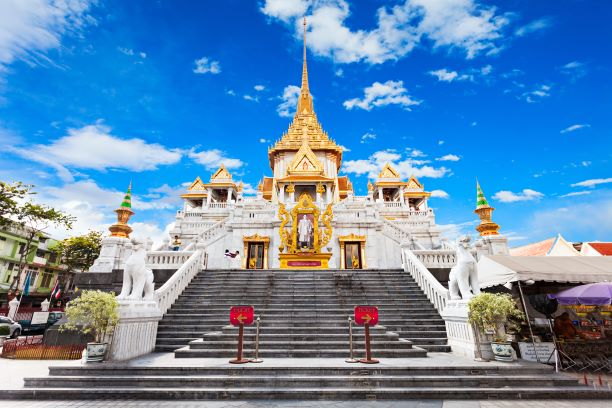 Wat Traimit - Temple of the Golden Buddha in Bangkok, Thailand