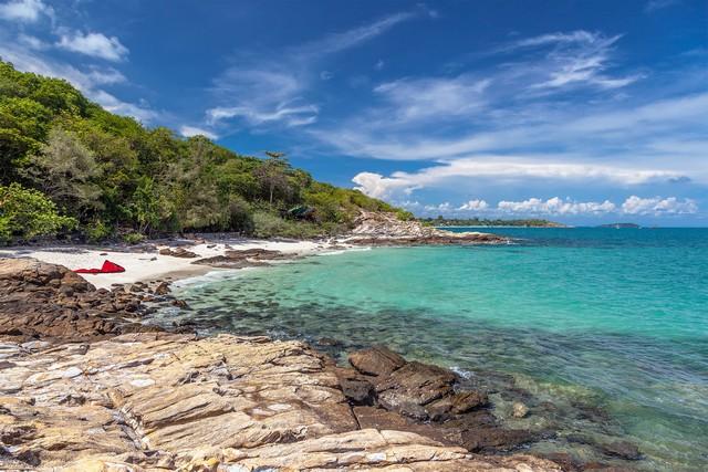 Ao Nuan Beach on the island of Koh Samet in Thailand