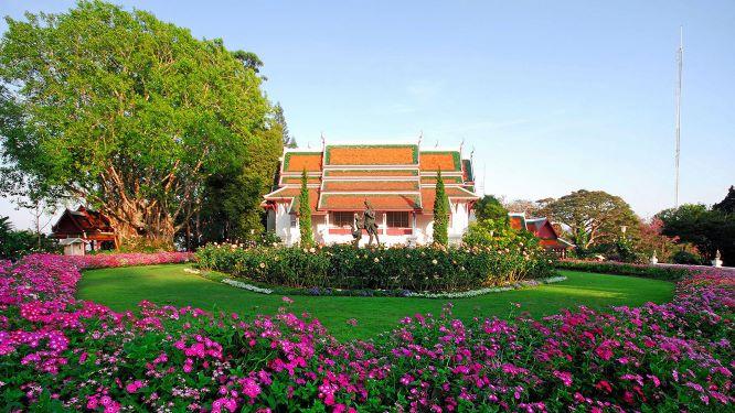 Bhubing Palace in Suthep Mountain Chiang Mai