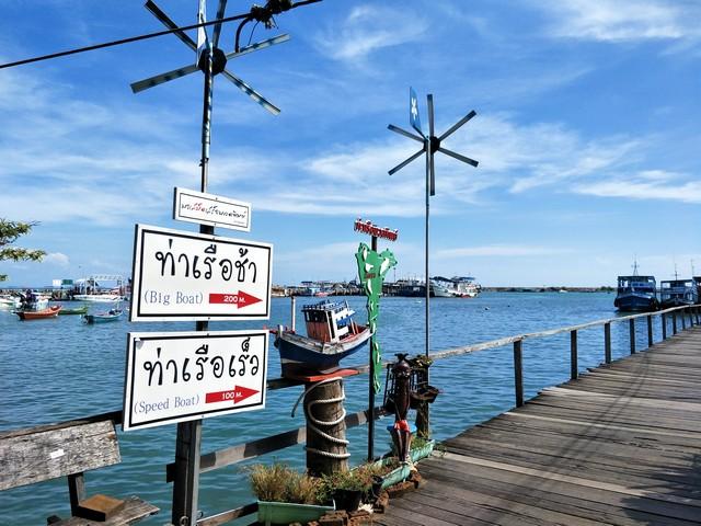 Boat Pier, Ban Phe