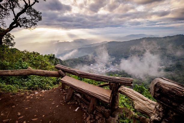 Chiang mai National park Doi Pui View Point