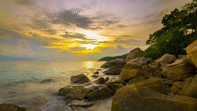 Freedom Beach at koh tao
